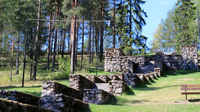 The Nero's stairs lead to the top of the Jyväskylä Ridge that overlooks the city. No, they are not named after the Roman emperor, but a city architect who just happened to share his surname with the ancient dictator.