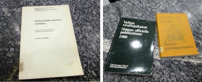 Finnish books in North Korea. / Suomalaisia kirjoja Pohjois-Koreassa.