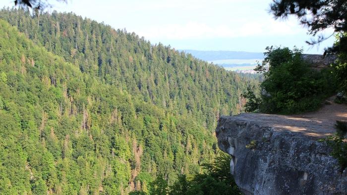 Tomášovský výhľad cliff view.