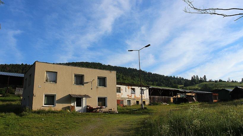 A farm in Vernár, Slovakia.